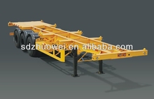2014 Best sale ! 13-18 m low flate bed platform lorry transport for transporting container