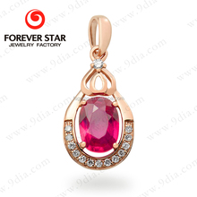Wholesale Jewelry Ruby and Diamond 22 Carat One Gram Gold Jewellery For Sale