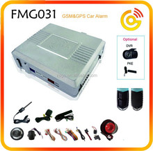 APP remote control GSM smart car alarm systems with gps tracking system SOS mode FMG031