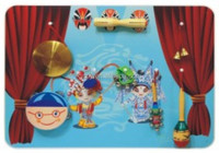 Children Innovative Games for Kids Day Care Wall Toy