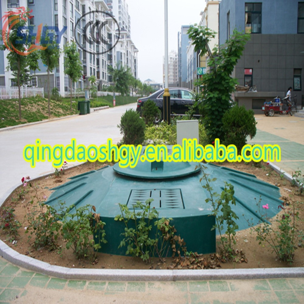 Mini Wastewater Treatment Plant : Small domestic household package sewage treatment plant