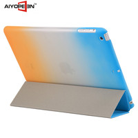 Hot sales High Quality rainbow suit styles smart case folder 3 Tablet for mini 1/2/3