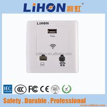Mini Wall-in Wireless Access Point Support RJ45 WAN LAN USB