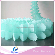 Artificial Greenery Paper Garland for Garden Party