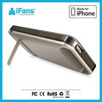 External backup battery charger case/slim cover case for iphone 5 5S
