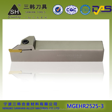 MGEHR China NEW product, cnc grooving tool holder,indexable lathe cutting tools with carbide insert