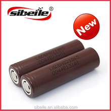 HOT LG 18650 battery LG 18650 cholocate battery 3000man 1x18650 lithium rechargeable battery HG2
