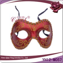 new fashional red traditional venetian carnival party masquerade mask