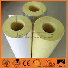 Para el aislamiento de tuberías de vapor, de vapor de aislamiento de tuberías de material