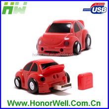Slim Toy Racing Car Usb Thumb Drive For Car Company