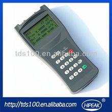 De mano del agua ultrasónico medidor de flujo tds-100h