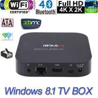 W8 Mini PC Window 8.1 Mini Digital Tv Set OS Intel Quad Core 1.33Ghz CPU 2G 2G/32G 3D Wifi Bluetooth Ip Receiver Tv Decoders
