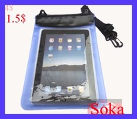 Underwater Tablet Water Proof Case Dry Bag for iPad/iPad 2 Galaxy Kindle Nook