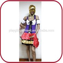 De Halloween sexy animal y mujeres trajes de cosplay película para adultos PGFC-2783