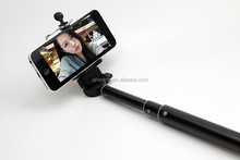 2016 travel necessary wireless 2016 travel necessary hot sale Selfie Stick 3 in 1 with built-in battery LED torch aluminum allo