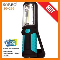 SORBO High Power Portable COB LED Work Light/Outdoor Magnetic Flashlight Torch/Rainproof 5 LED Camping Light