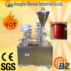 KC-1 automatic jelly cup filling and sealing machine, k cup /coffee cup packing machine, cup jelly filling machine