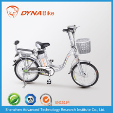 Stylish storage battery 36V 350W E-bike 2 wheel electric hybrid bicycle