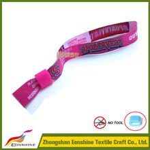 Custom Giveaways Items Personalized Wedding Favors Textile Wristbands