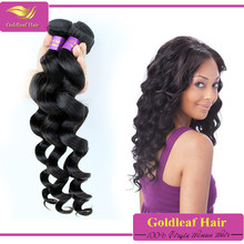 Top selling products 2014 cheap hair loose wave brazilian hair