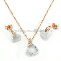 S327R1 New design 18k Gold Plated african animal and women sex image jewelry set