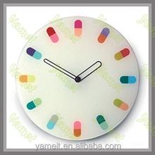 Household Acrylic auto flip calendar clock