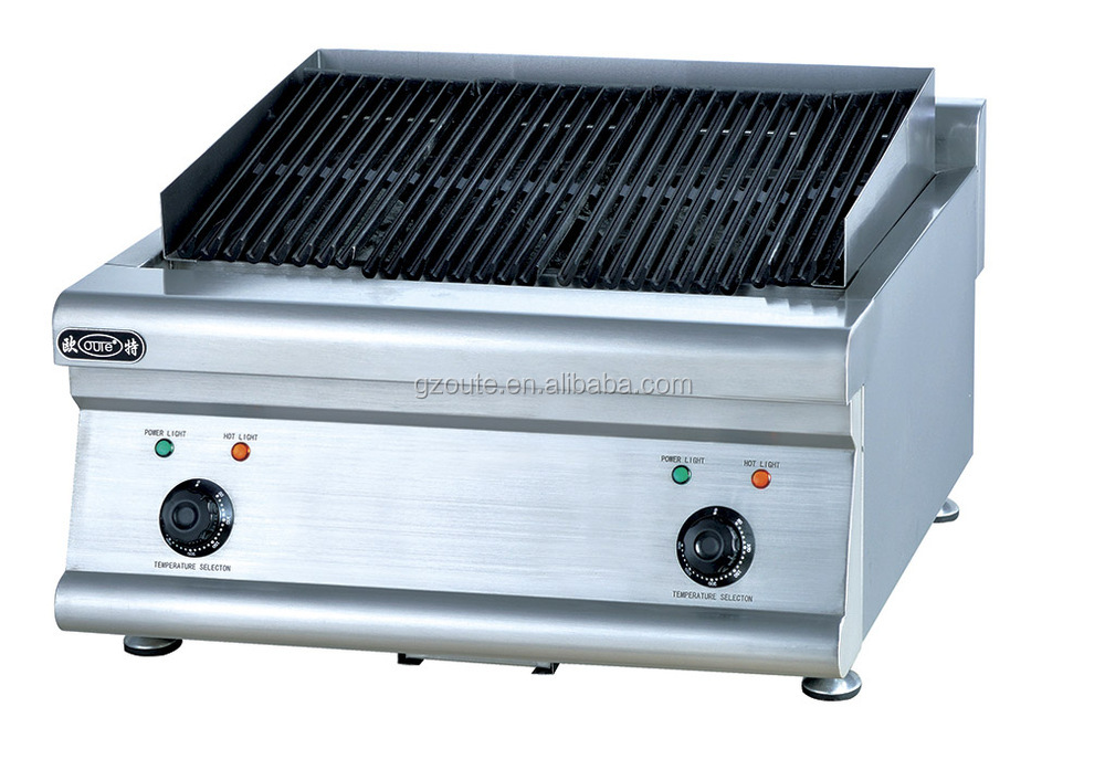 Commercial Restaurant Kitchen Electric Lava Rock Grill - Buy ...