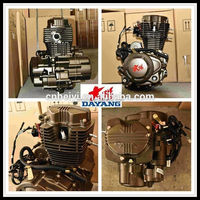 Single Cylinder Four Stroke Air Cooled Zongshen 200cc Motorcycle Engine Parts