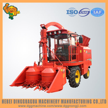 Agricultural machinery doule discs header animal feed processing machine silage harvester