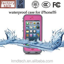 Newest Coming Untra-thin Gorilla Glass Cover Shockproof Redpepper Waterproof Case for iPhone 5 5S Case