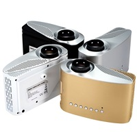 Full hd mini projector 480x320p support 1080p projector excellent for home usage