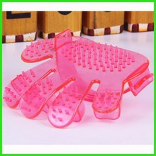 Plastic pet and dog hair brush