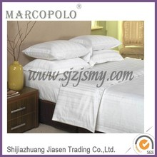 king size duvet covers/hotel cotton stripe king size bedclothes/wholesale used bedcloth for sales