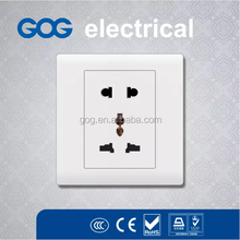 automatic turn off light switch, ivory white color multifunction socket