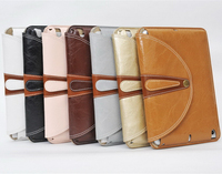 360 Rotating Retro Fashion Snap Flip Leather Cover Smart Case with Stand for iPad Mini 1 2 3 4
