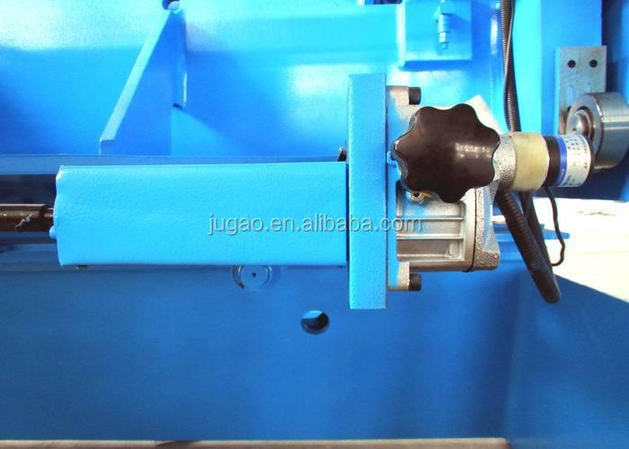 QC11Y Hydraulic Guillotine Shearing Machine