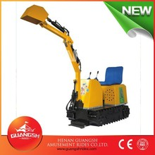 Good Activity for kids !! Playground children play games electric excavator for sale