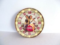 NEW! Large Round 30CM Wall Clock with LED Lights Premium Quality