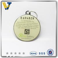 hot sale customized dog id tag name and phone number