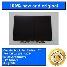 """For MacBook Pro 13.3"""" inch Retina LCD screen disaply LP133WQ1 A1502 LCD Screen Display ME864 ME865 ME866 MGX72 MGX82 MGX92"""