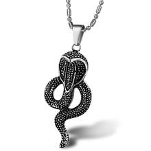 Novo estilo jóias pingente cobra com colar de corrente gx786b