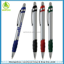 Free samples custom printing Logo cheap plastic roller ball pen