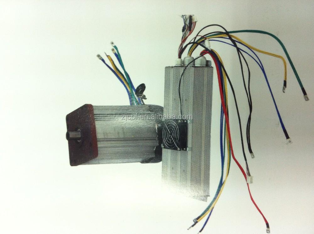 60v 72v Dc Switch Reluctance Motor For Electric Vehicle