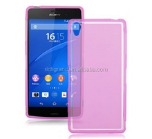 hotsell New Frosted Matte Soft Flexible TPU GEL Back Case Cover Skin For Sony Xperia Z3