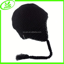 Outside unisex acrylic hat warm ear protection cap for sale