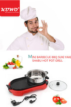 Factory direct prices multi-fuction Electric Teppanyaki Grill with Steamboat