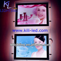 24W Advertising led light box Double sided view A4 light in the box dress