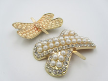 Latest Hot Sale Pearl Jewelry Accessories Shoe Clip Buckle for Woman Shoe