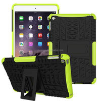 Mobile accessories Rugged Hard Robot Back Cover Stand Holder kickstand shockproof case for ipad mini wholesale alibaba