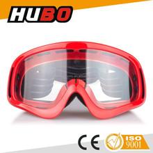 High impact lens outdoor sports newest style helmet custom motocross goggles
